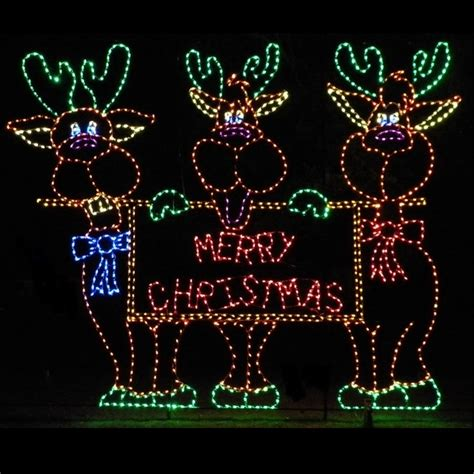 led outdoor christmas decorations lighted commercial
