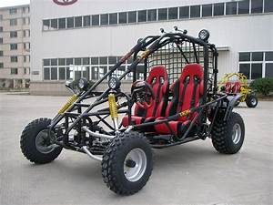 Red 250cc Racing Gokart Buggy For Adult   2 Seat Dune