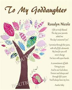 goddaughter gift gift for goddaughter by boutiqueblu on With letter to goddaughter from godmother