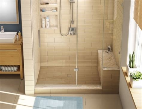 shower with seat redi bench shower seat