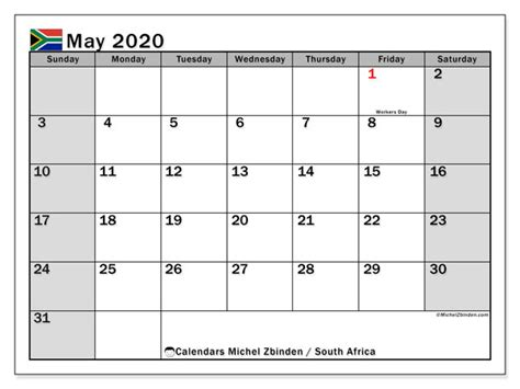calendar   south africa michel zbinden en