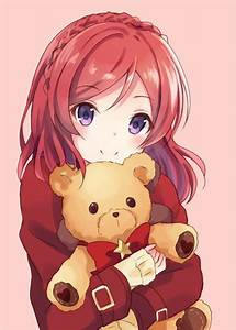 yozapen | .*・。゚ᗩnιмe .*・。゚ | Pinterest | Red hair, Kawaii ...
