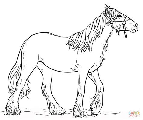 Kleurplaat Paard Tinker by Tinker Kleurplaat Gratis Kleurplaten Printen