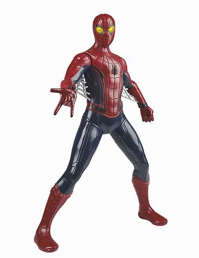 Spider Homecoming Suit Figures Figure Action Tech