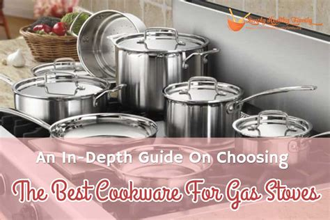 gas cookware stoves choosing depth guide stove