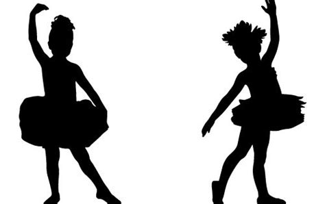 child ballerina silhouettejpg  kim sohi