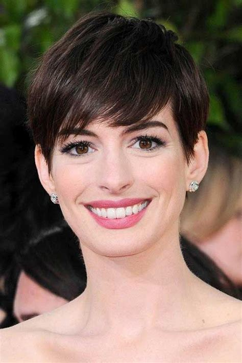 Hathaway Pixie Hairstyle by Hathaway Pixie Brown Hair Hair Hathaway
