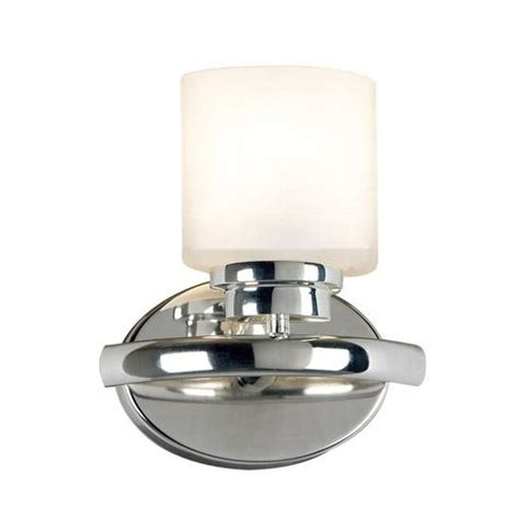 bow single light bathroom vanity fixture wall sconce