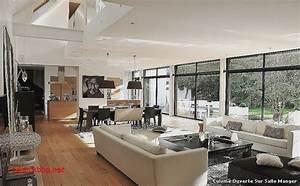 Luxe photo de salon salle a manger pour decoration cuisine for Deco cuisine avec mobilier salle a manger moderne