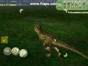 JPOG Gameplay GEP V2 Raptor And T Rex Interaction