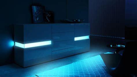 sideboard flow  black high gloss josy furniture