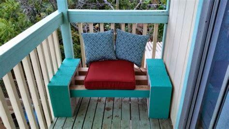 diy cinder block bench home design garden