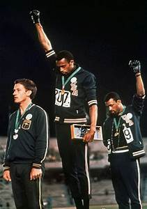 Olympic Black Power Salute at 45