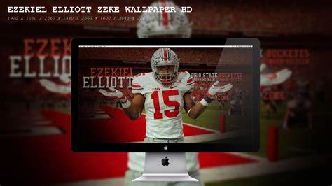 Ohio State Football Wallpaper Ezekiel Elliott Zeke Wallpaper Hd By Beaware8 On Deviantart