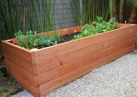 Long Wood Planter Box  How To Make Wooden Planter Boxes