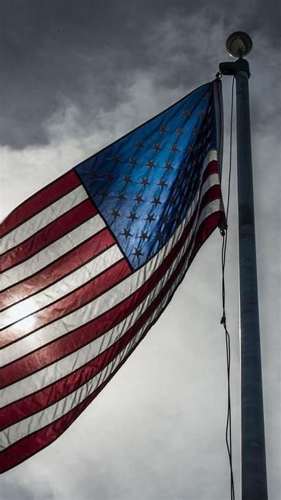 Flag Usa Iphone American Wallpapers 4k Mobile