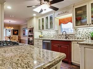 backsplash ideas for granite countertops hgtv pictures With what kind of paint to use on kitchen cabinets for old world map wall art