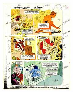 Original Color Guide For Wonder Woman  1987 2nd Series