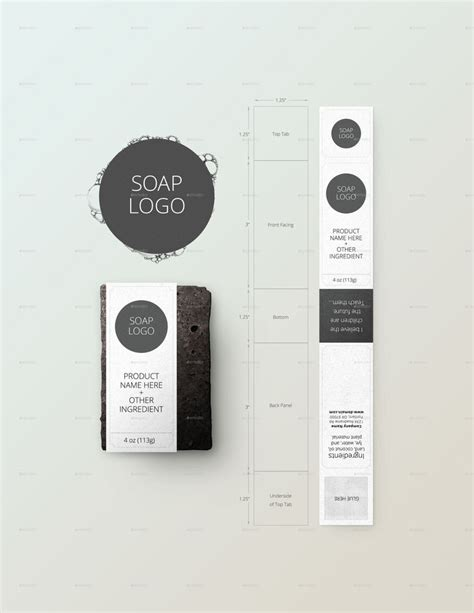✓ free for commercial use ✓ high quality images. Soap Bar Package Tool and Mockup | Mydła, Bar, Layout