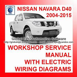 Automotive Repair Manuals  Nissan Navara D40 2004