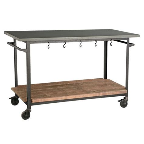 kitchen cart dining table kitchen islands made from industrial carts let 39 s stay