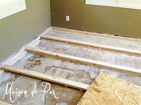 ways to level a floor 1000 images about diy repair sagging floors on pinterest