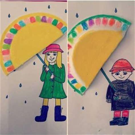 umbrella craft  preschoolers funny crafts