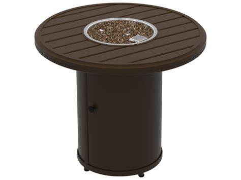 The burner system produces a wide range of heat output peaking at 90,000 btus. Tropitone Banchetto Fire Pits - Manual Ignition 30 Round ...