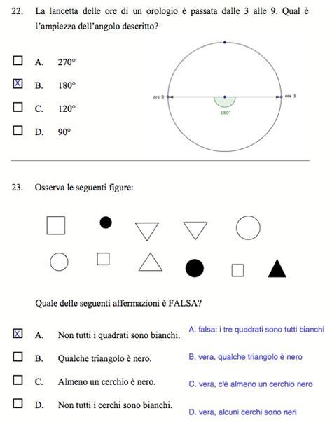 Prove Ingresso Matematica Prima Media Come Risolvere Alcune Prove Invalsi Per La Prima Media