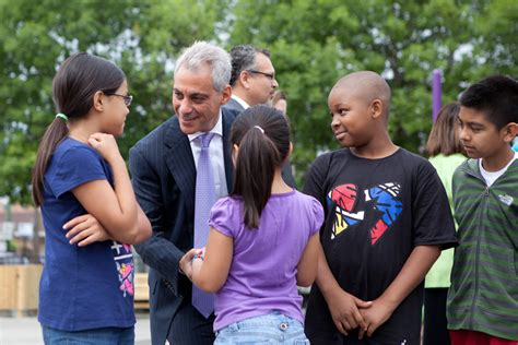 kindergarten in place for 2013 14 school year 171 cbs 812 | mayor emanuel visits with children at tonti elementary school