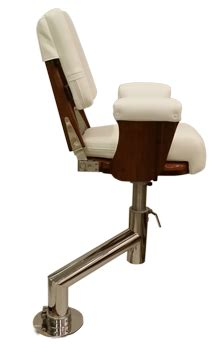 offset boat seat pedestal helm chairs helm chair designs by nautical design