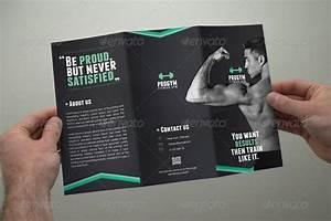 Fitness Brochure Tri-Fold by coxsumon GraphicRiver