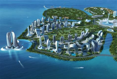 Drop Light by Hainan Ocean Flower Resort In China By Lava