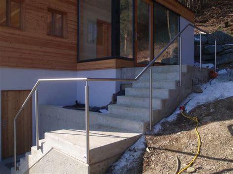 Wie Geländer Für Außentreppe Befestigen