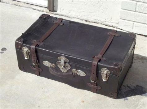 antique travel trunk ebay