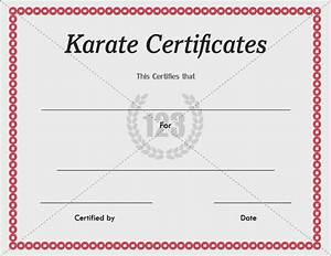 7 best certificate images on pinterest certificate With martial art certificate templates free