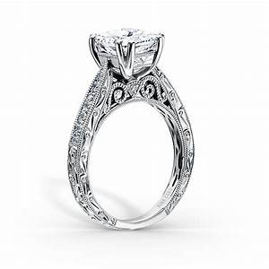 Captivating designer diamond engagement rings by kirk kara for Wedding rings designers