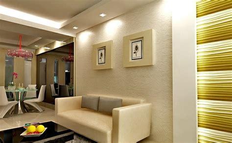 Ceiling design in living room – amazing, suspended