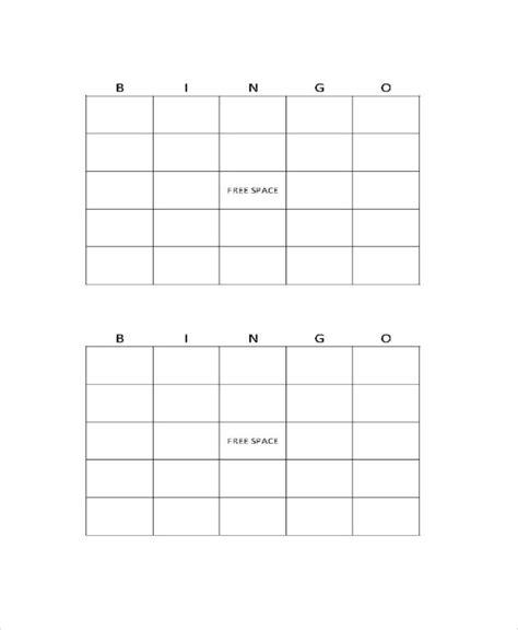 bingo card template word document word bingo template 12 free word documents
