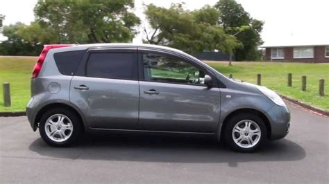 nissan note 2005 white nissan note 1 5l auto 2005 youtube