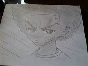 How To Draw Huey Freeman From The Boondocks Comment