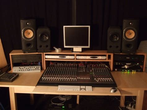 recording studio desk ikea homemade studio desk cheapest home studio desk ever with