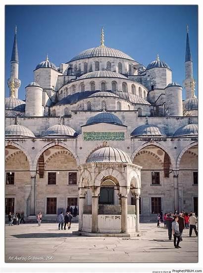 Architecture Istanbul Islamic Mosque Turkey Prev