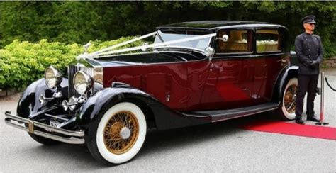 Classic 1933 Rolls Royce Phantom Ii Sports Saloon By Th