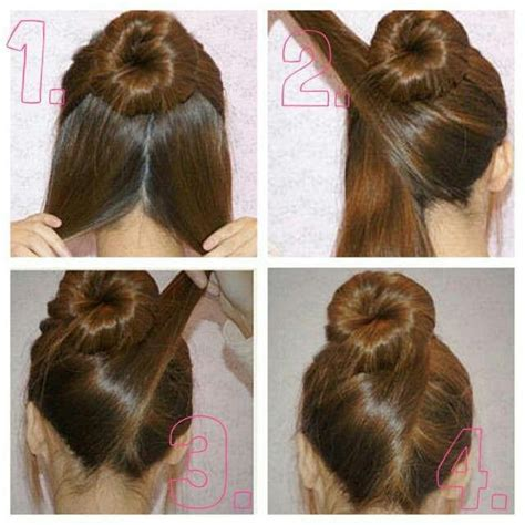 hair up styles bun simple yet i want to wear this sooon 4646