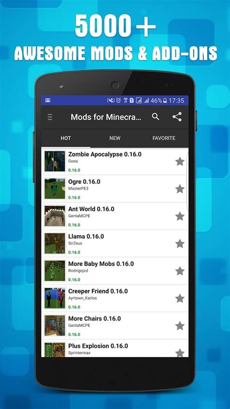 minecraft mobile app mods addons for minecraft pe android apps on play