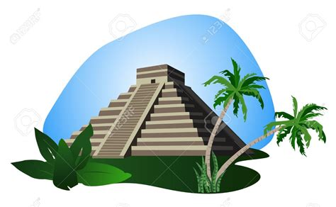 Mayan Temple Clipart