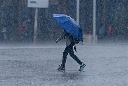 Rain Umbrella Heavy Under Rwanda Emmanuel Kigali