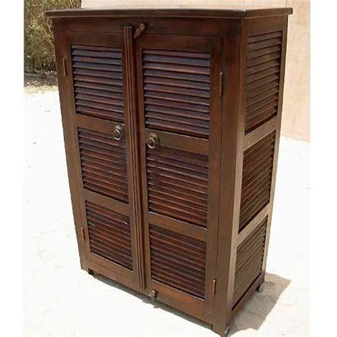 contemporary solid wood handmade storage armoire clothes