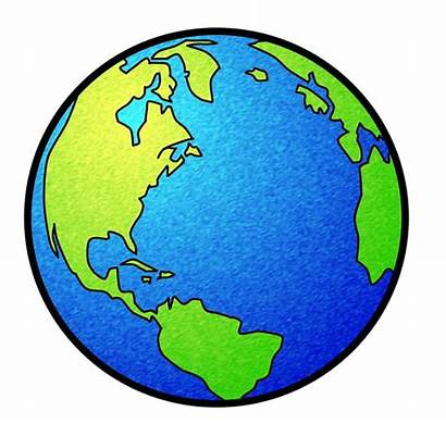 Earth Clipart Globe Clip Ball Circle Area